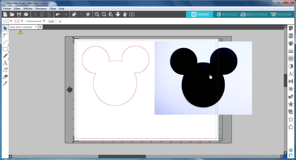 silhouette sd2 - Retour d'expérience : Machine de découpe Silhouette (plotter)
