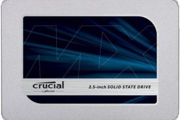 crucial mx500 SATA 370x247 - SSD Crucial MX500 au format 2,5 pouces et M.2