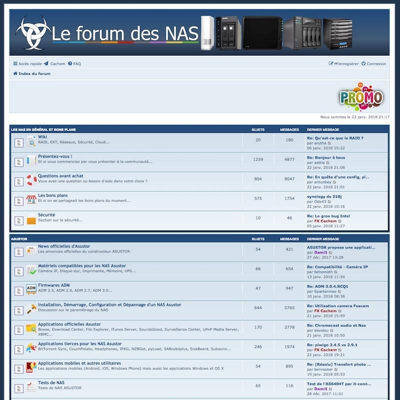 forum nas - Le forum fête ses 4 ans