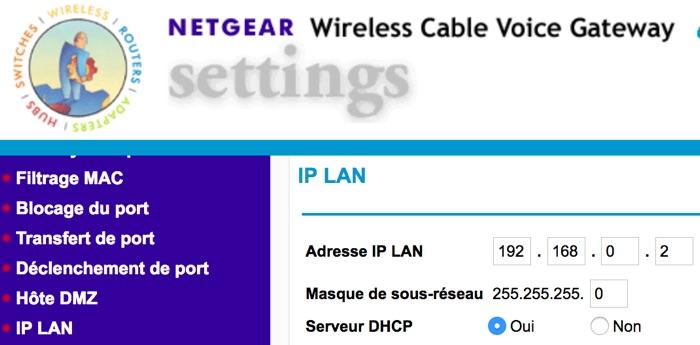 ip netgear sfr - Routeur Synology RT2600ac avec 2 connexions Internet