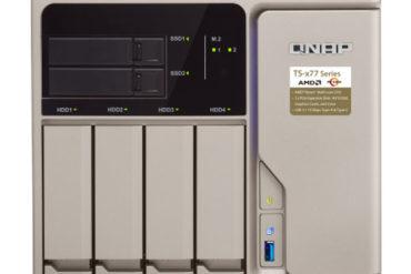 qnap ts 677 370x247 - NAS - QNAP annonce l'arrivée de vQTS... uniquement pour la série TS-x77 (pour le moment)