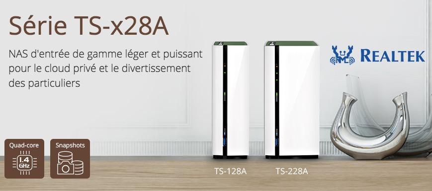 qnap ts x28a - NAS - QNAP annonce les TS-128A et TS-228A