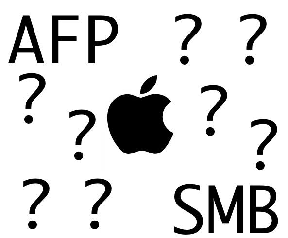 SMB AFP Mac Apple macOS