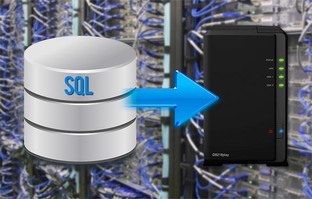 miniature sql - Sauvegarder automatiquement votre base SQL de son site vers un NAS