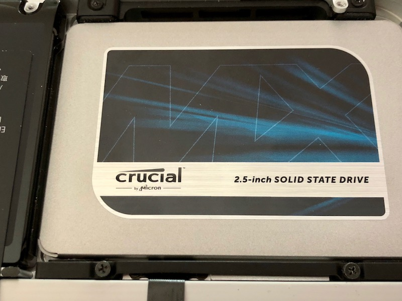 ssd crucial mx500 macbook pro - Test du Crucial MX500