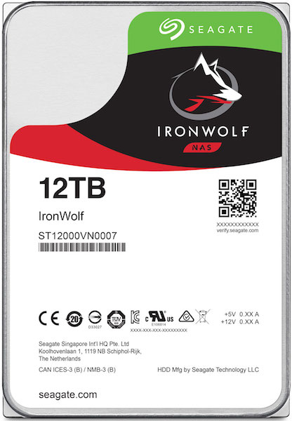 test seagate 12 - Test Seagate IronWolf 12To