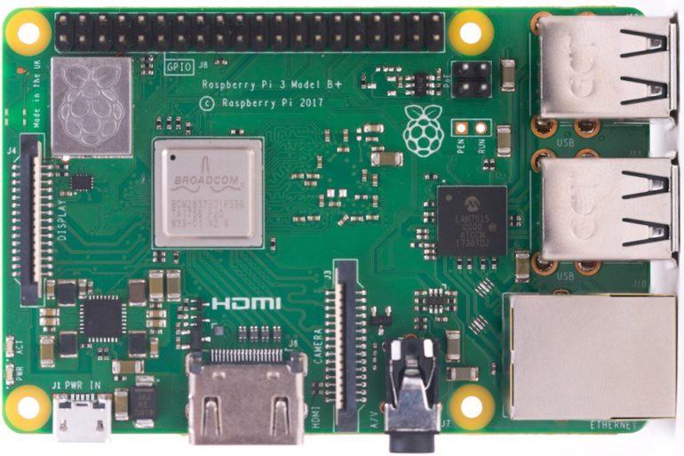 Raspberry Pi 3B 770x513 - Le Raspberry Pi 3B+ est disponible