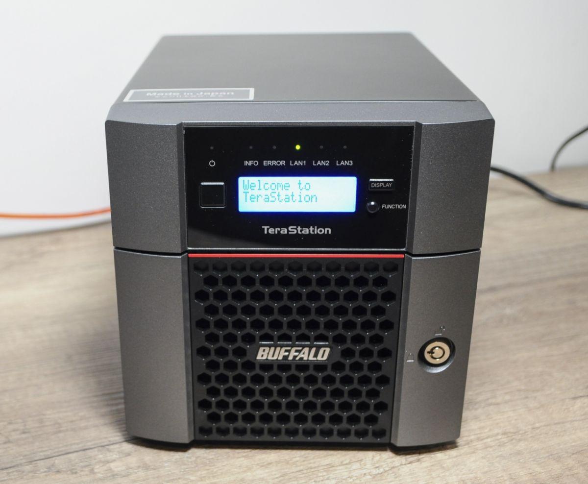 Buffalo TS5210DN 11 - Test Nas Buffalo TeraStation 5210DN