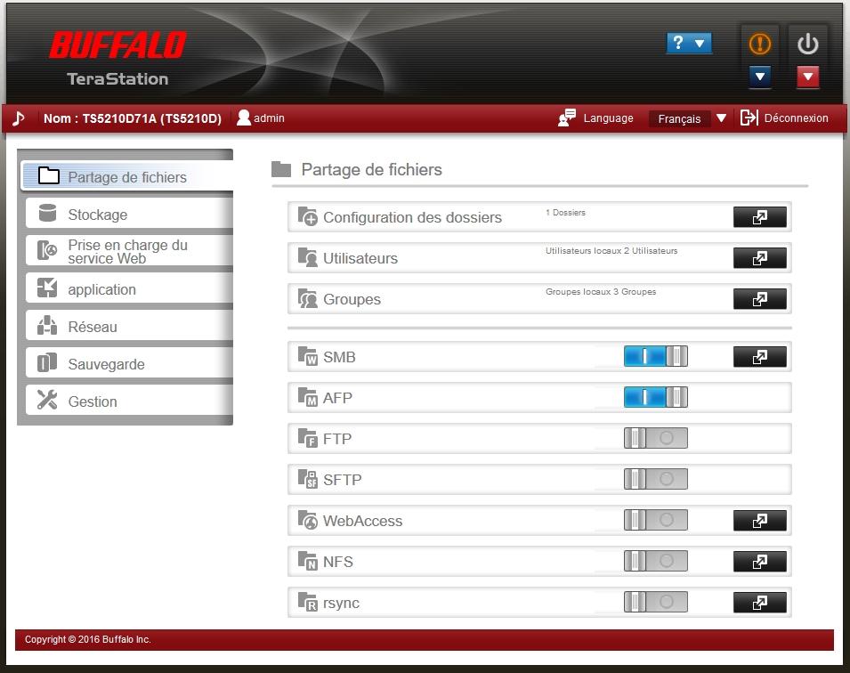 Buffalo TS5210DN 5 - Test Nas Buffalo TeraStation 5210DN