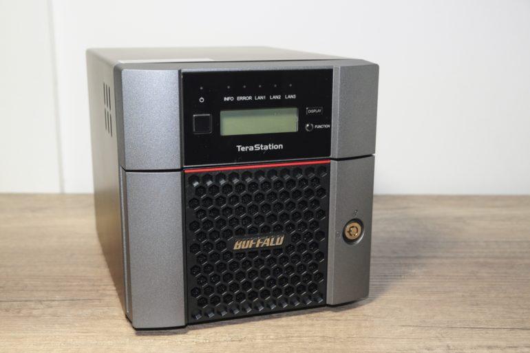 Buffalo TS5210DN 9 770x513 - Test Nas Buffalo TeraStation 5210DN