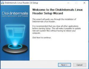 Linux Reader Install 1 300x233 - Lire le disque NAS depuis Windows (Gratuit) - ext2 / ext3 / ext4