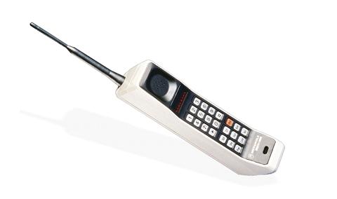Motorola DynaTAC - Motorola... déjà 45 ans de mobilité (enfin presque)