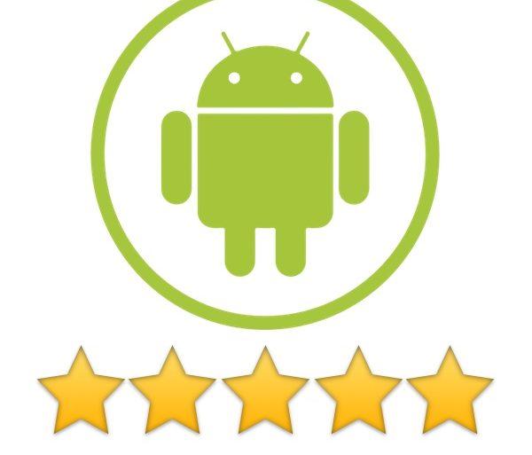 android 5 etoiles 600x513 - Meilleurs Android à moins de 200 euros - Guide d'achat