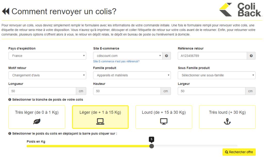 coliback procedure retour 1024x613 - ColiBack - Le retour de colis simplifié