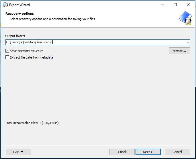 destination - Lire le disque NAS depuis Windows (Gratuit) - ext2 / ext3 / ext4