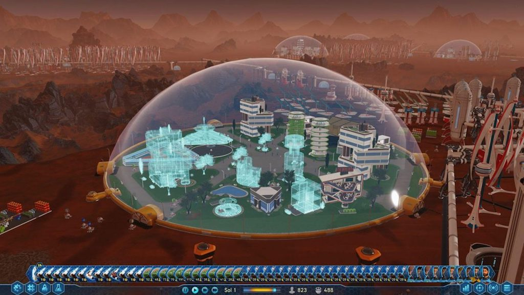 surviving mars domes - Surviving Mars, Vis ma vie de Martien