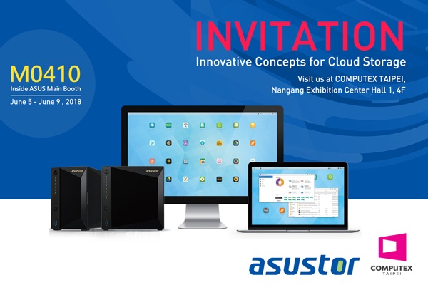 asustor computex - NAS - ASUSTOR AS1002T v2 & AS1004T v2, ADM 3.2, 10GbE et série AS40