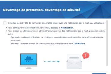conseiller securite 370x247 - Synology DSM 6.2 est disponible pour tous les NAS...