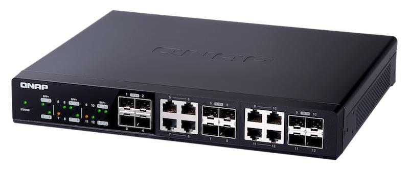 qsw 1208 8c - Switch 10 Gbits/s chez QNAP : QSW-804-4C et QSW-1208-8C