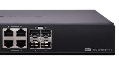 qsw 804 4c ports - Switch 10 Gbits/s chez QNAP : QSW-804-4C et QSW-1208-8C