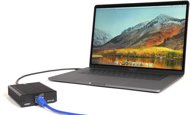 sonnet solo 10 - Sonnet lance un adaptateur Thunderbolt 3 vers 10 Gigabit Ethernet à prix cassé