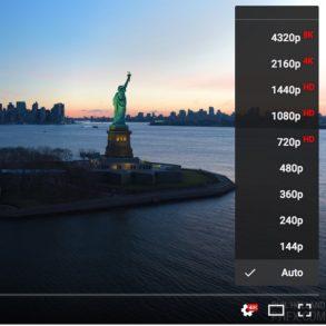 8k youtube 293x293 - Activer YouTube 4K avec Firefox... voire 8K