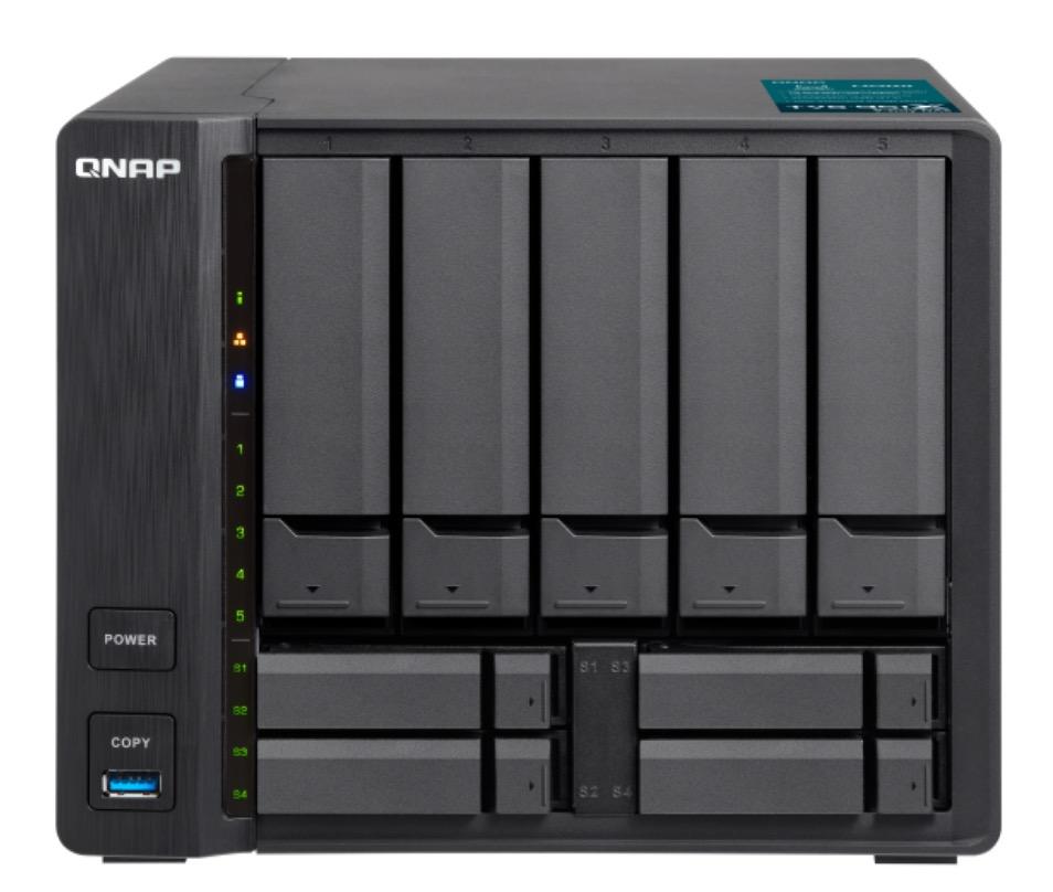 QNAP TVS 951X - Computex 2018 : QNAP TVS-951X, TS-251B, QTS 4.3.5...