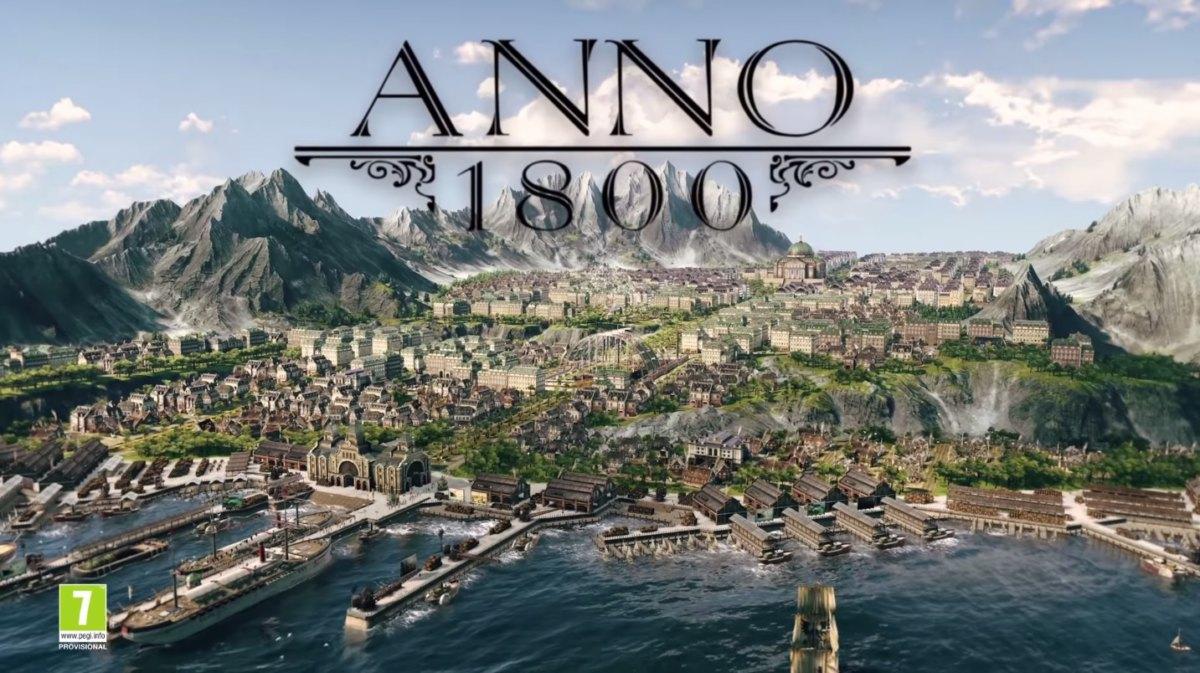 anno 1800 - Anno 1800 continue son développement et s'offre un trailer à l'E3