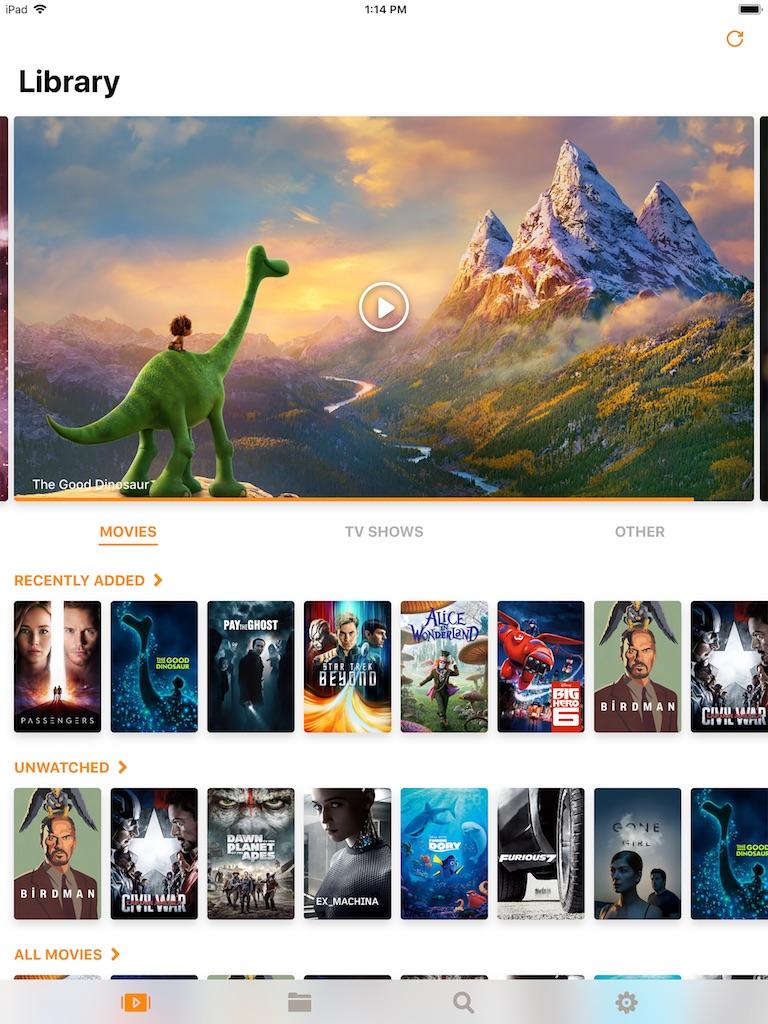 iPad infuse 5 - Infuse 5 - Transforme ton Apple TV en lecteur multimédia surpuissant (fonctionne également avec iPhone et iPad)