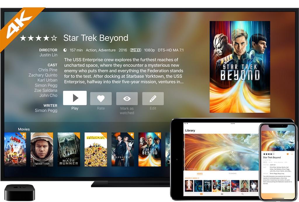 infuse 5 - Infuse 5 - Transforme ton Apple TV en lecteur multimédia surpuissant (fonctionne également avec iPhone et iPad)