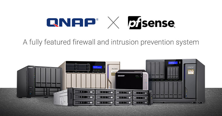 pfsense x QNAP - QNAP propose désormais pfSense sur ses NAS