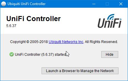 unifi controller 17 - Ubiquiti: Unifi Controller ne démarre pas (Windows)