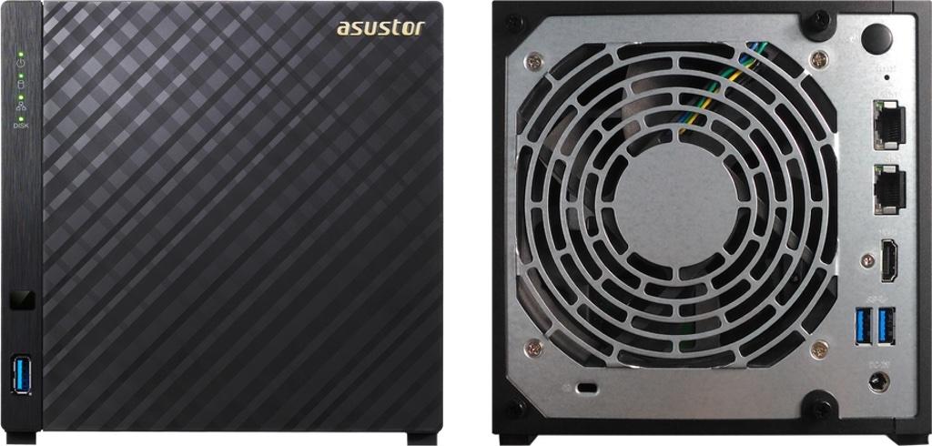 AS3204T v2 - 2 nouveaux NAS chez ASUSTOR : AS3102T v2 et AS3204T v2