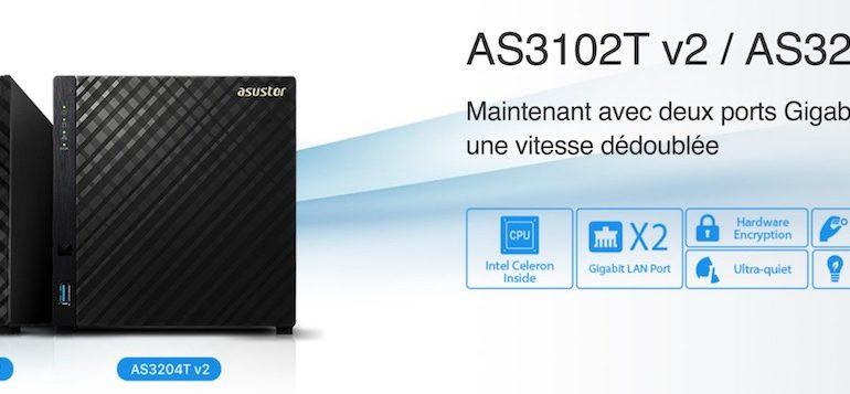 ASUSTOR AS3102T v2 AS3204T v2 770x357 - 2 nouveaux NAS chez ASUSTOR : AS3102T v2 et AS3204T v2