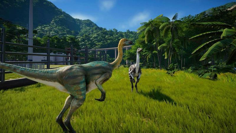Jurassic World Evolution. Test - Jurassic World Evolution - Decevantosaurus et Plutopamalizar sont sur un bateau...
