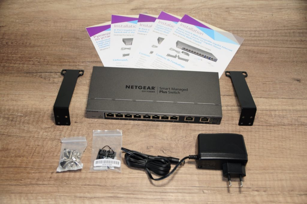 Netgear gs110emx 11 1024x680 - NAS – Ma configuration autour du Synology DS918+ (partie 3)