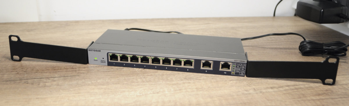 Netgear gs110emx 5 - Test de 2 switches Netgear 10 Gbit/s