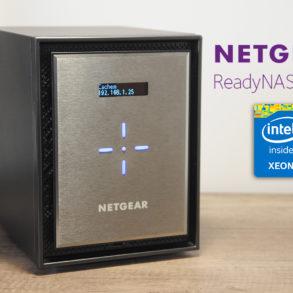 Netgear readynas 626 miniature 293x293 - Test NAS Netgear ReadyNAS 626X, la puissance !