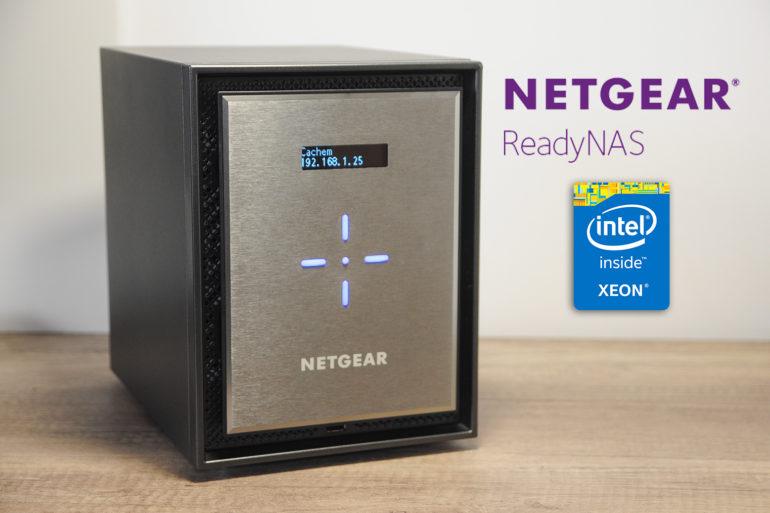 Netgear readynas 626 miniature 770x513 - Test NAS Netgear ReadyNAS 626X, la puissance !