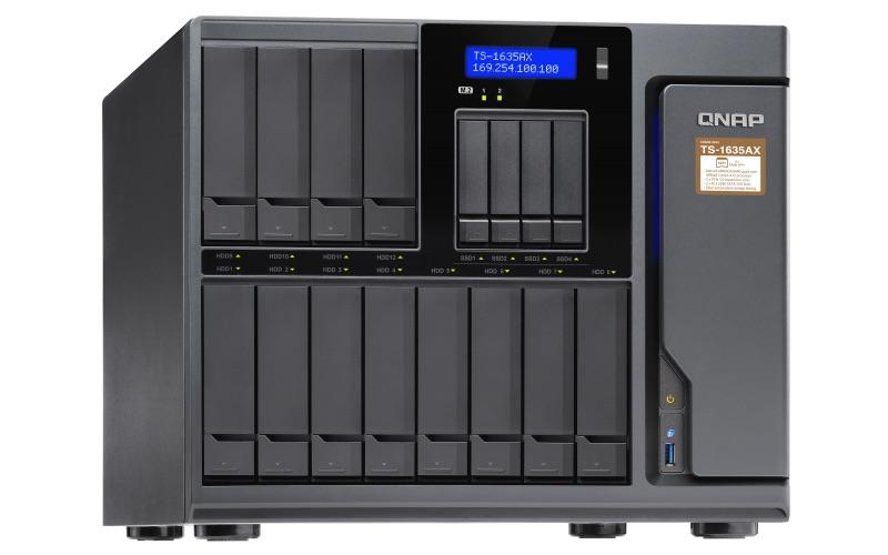 QNAP TS 1635AX - QNAP et son nouveau NAS 16 baies : TS-1635AX