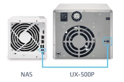QNAP UX 500P - QNAP et son nouveau NAS 16 baies : TS-1635AX