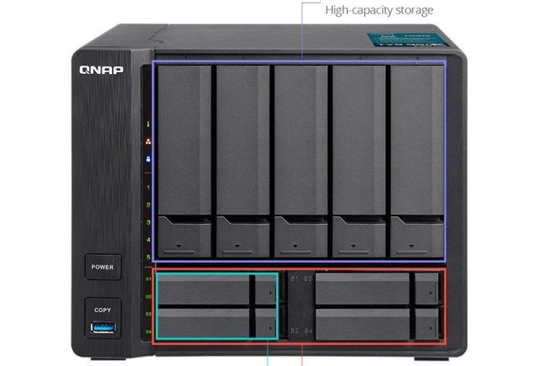 QNAP tvs 951x 770x513 - NAS - QNAP TVS-951X annoncé... et disponible