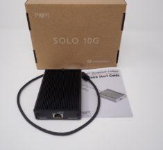 Test Sonnet Solo 10G (Thunderbolt 3 & 10 Gbits/s)