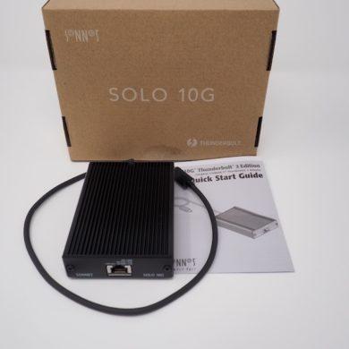 Sonnet Solo 10G review 390x390 - Test Sonnet Solo 10G (Thunderbolt 3 & 10 Gbits/s)