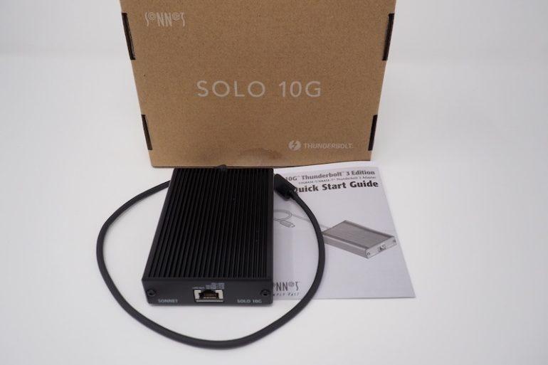 Sonnet Solo 10G review 770x513 - Test Sonnet Solo 10G (Thunderbolt 3 & 10 Gbits/s)