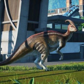 Test Jurassic World Evolution 293x293 - Jurassic World Evolution - Decevantosaurus et Plutopamalizar sont sur un bateau...