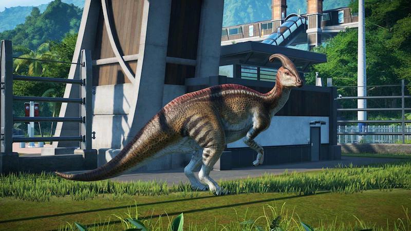 Test Jurassic World Evolution - Jurassic World Evolution - Decevantosaurus et Plutopamalizar sont sur un bateau...