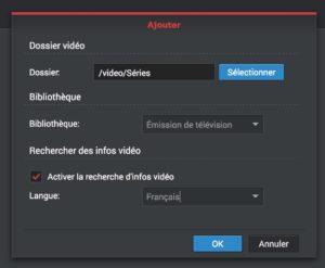 ajouter series video station 300x247 - Regarder films et séries du NAS Synology sur sa TV
