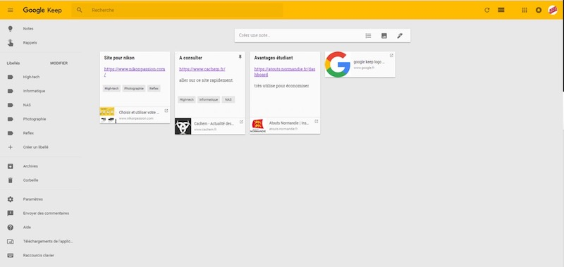 chrome keep - 5 extensions indispensables pour Google Chrome