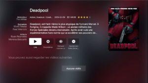 deadpool TV NAS 300x170 - Regarder films et séries du NAS Synology sur sa TV